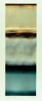 "Untitled, 2014, oil on Yupo paper, 20 ⅝ x 6 ⅞"", photo: Margaret Zydek"
