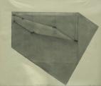"""Triple Pentagon, Six Locations"", 1979, graphite on vellum, 19 x 24"" im."