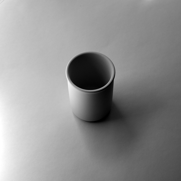 """White Cup 000a"", 2015, archival inkjet print, ed.1 of 3, 6 x 6"""