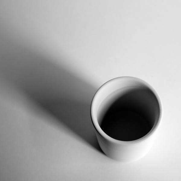 """White Cup 001b"", 2015, archival inkjet print, ed. 1 of 3, 6 x 6"""