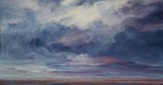 """""""Squall #3"""", 2015, oil on canvas, 29.5"""" x 56"""""""