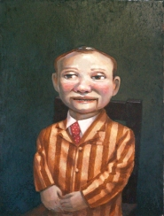 """Mister Spangler"", 2014, oil on canvas, 16"" x 12"""