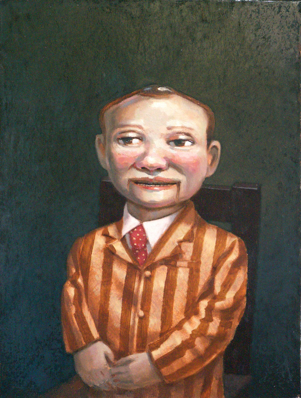 """Mister Spangler"", 2014, oil on canvas, 16"" x 12"""