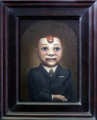"""""""Buddy Nichols"""", 2014, oil on canvas, 11"""" x 8"""""""