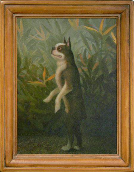 """Pollux"", 2004, oil on panel, 27"" x 21"""